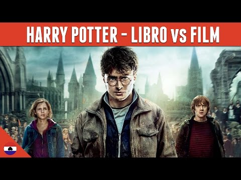 HARRY POTTER - LIBRO vs FILM