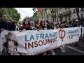 Deux tiers des partisans de La France insoumise optent pour le vote blanc ou l'abstention