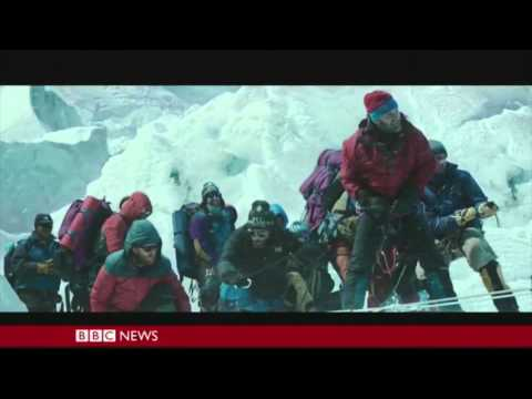 Action scene from Everest (2015) with no SFX