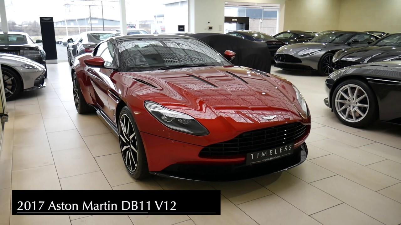 Aston Martin Edinburgh Db11 Youtube