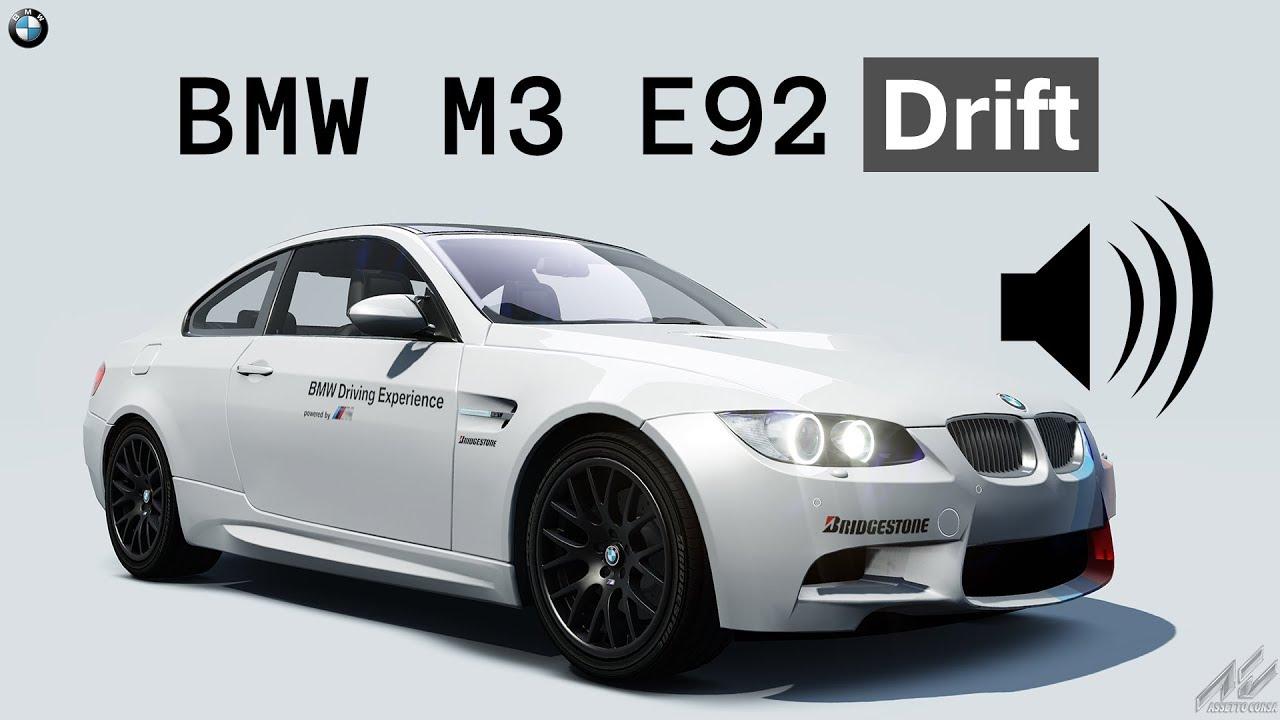 Assetto Corsa Sound: BMW M3 E92 Drift - YouTube