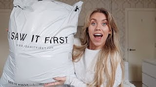 I SAW IT FIRST TRY ON HAUL & GIVEAWAY! | AD