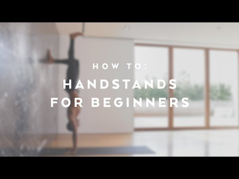 3 Tips For Handstands For Beginners with Andrew Sealy