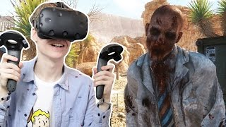 GOING INTO THE OL' DUTCH MINES | Arizona Sunshine VR (HTC Vive Gameplay)