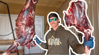 Aging Whitetail Deer Meat for 7 Days (Clean & Cook)