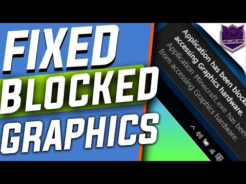 Application Has Been Blocked From Accessing Graphics Hardware Windows 10 Fix