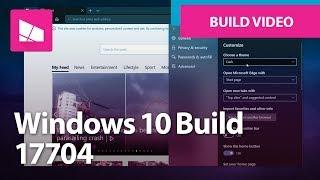 Windows 10 Build 17704 - Microsoft Edge, Skype, Keyboard + MORE
