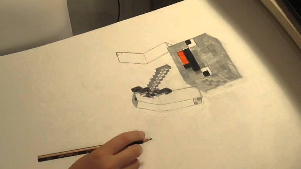 Alphastein Zeichnen YouTube - Skins fur minecraft alphastein