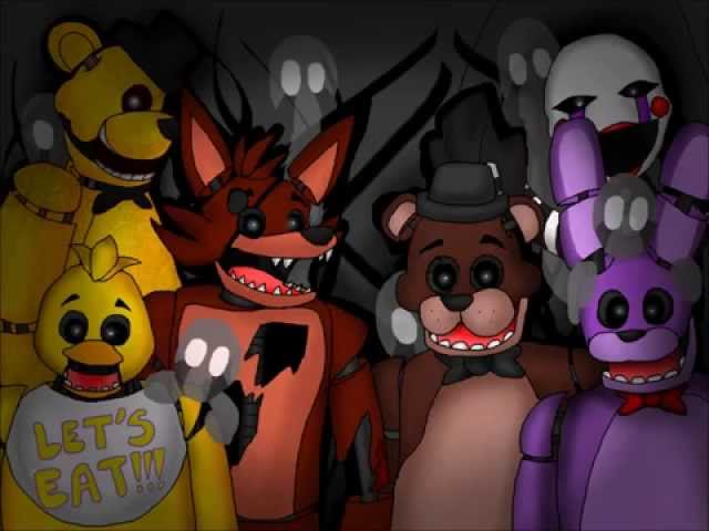 Just Like Balloons: A Five Nights at Freddys (FNAF) Music Video- Song by MandoPony