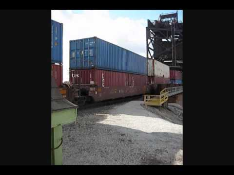 Union Pacific Train in Timelapse