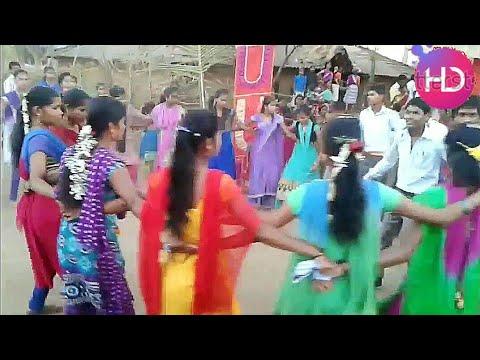Aadivasi Talasari Village Dhamangaon wedding Dance with Boys and Girls, Ak Aadiwasi