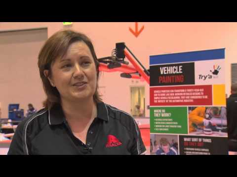 Showcase of Vehicle Painting at the National Competition (Prod. by Axalta Coating Systems)