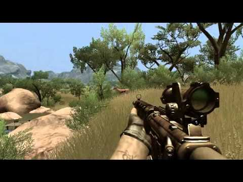 Farcry 2 Hunting Animals Youtube