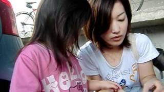 北朝鮮から脱北してきたかのようなとても不憫な母娘です。!