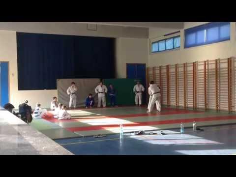 Entraînement du 14 août 2015 au Judo Club Grand-Hornu.