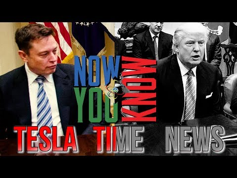 Tesla Time News - Elon Musk Leaves Trump's Business Council