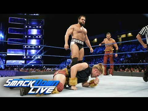 Breezango vs. Rusev & Aiden English: SmackDown LIVE, Jan. 9, 2018