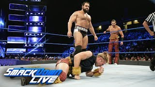 Breezango vs. Rusev & Aiden English: SmackDown LIVE, Jan. 9, 2018 thumbnail