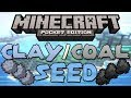 Clay & Coal Seed! 'Chain of Islands Seed' - Minecraft Pocket Edition