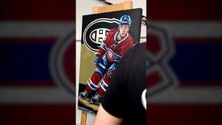 Jesperi Kotkaniemi Painting Sevigny - KK - NHL Montreal Canadiens