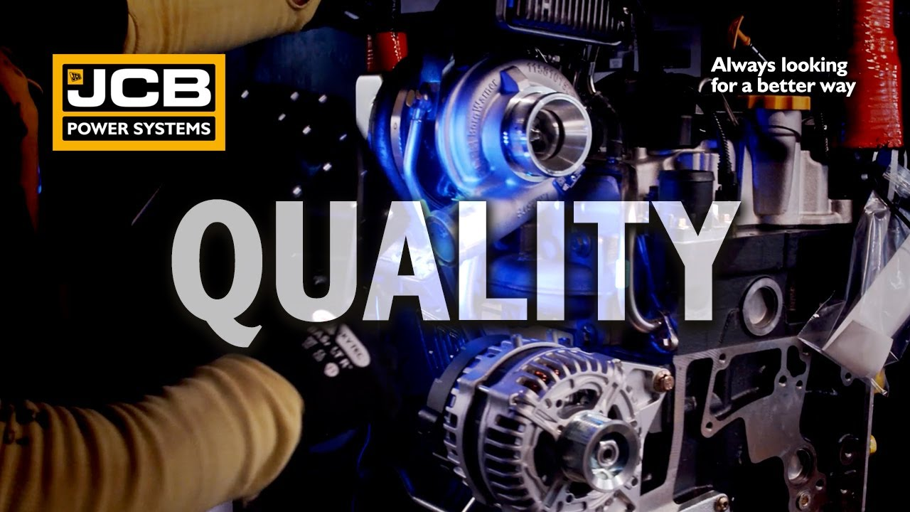 A Quality Product- JCB Power Systems