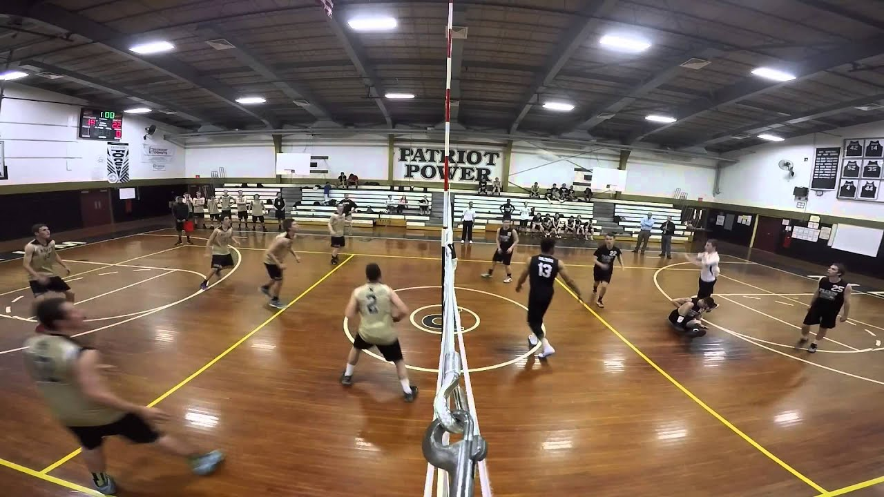 Pilgrim Vs North Kingstown Men S Volleyball Youtube