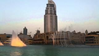 Dubai Mall - Water show (Ezel Jenerik Music)