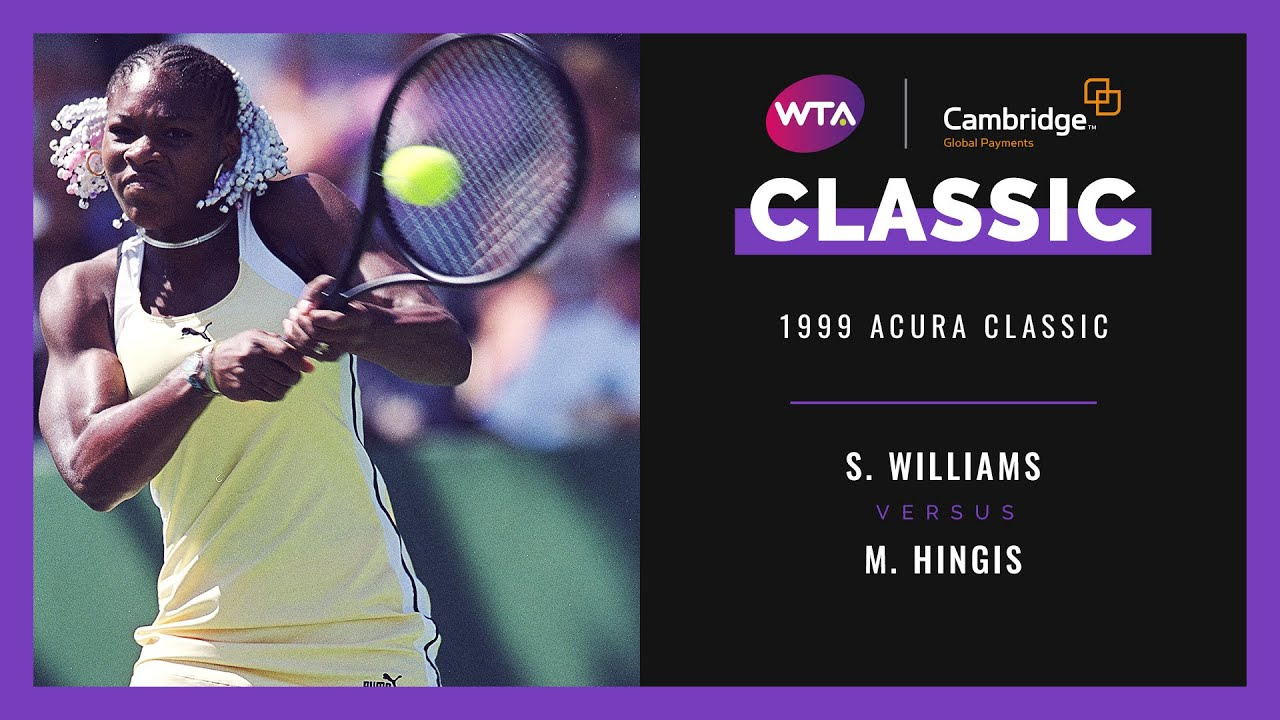 Serena Williams v. Martina Hingis | Full Match | 1999 Acura Classic