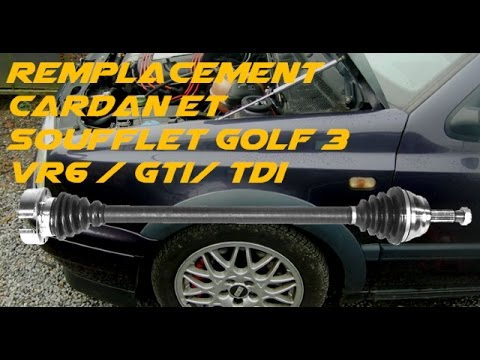 tuto remplacement cardan golf 3 vr6 tdi gti youtube. Black Bedroom Furniture Sets. Home Design Ideas