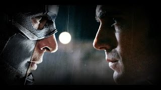 Captain America: Civil War - Batman VS Superman Style