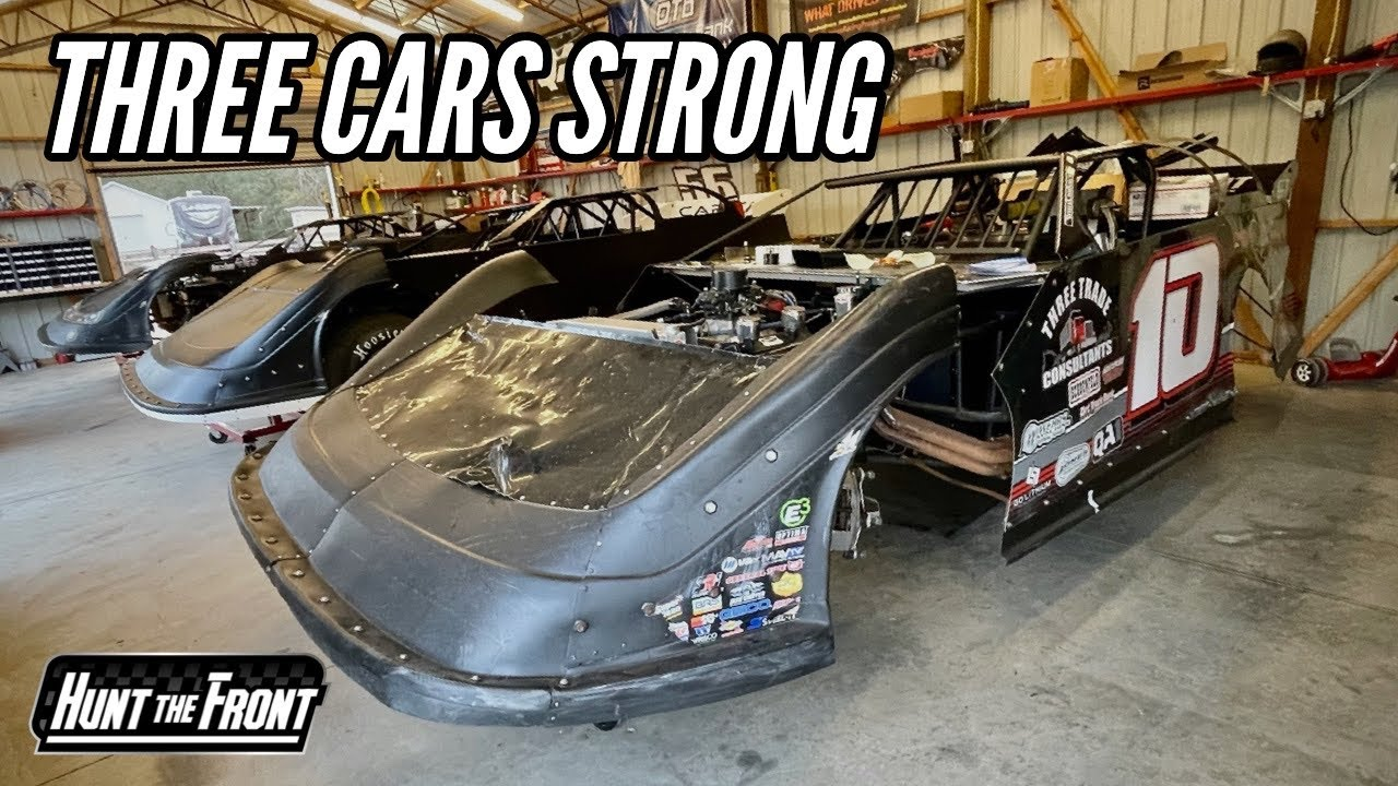 It's Home! Fitting the New Capital Super Late Model in the Race Shop