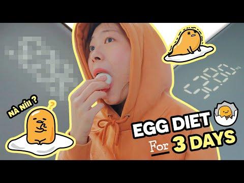 I TRIED EGG DIET FOR 3 DAYS ? | mình đã thử giảm cân bằng trứng trong 3 ngày.. và kết quả ?