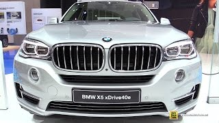 2016 BMW X5 40e xDrive Plug in Hybrid - Exterior and Interior Walkaround - 2015 Frankfurt Motor Show