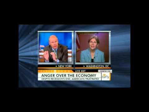 Elizabeth Warren on Anger over Economy