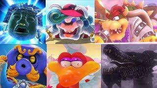 Super Mario Odyssey - All Boss Battles & Rematches + Secret Ending