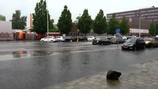 Wateroverlast Amsterdam 2014-07-28