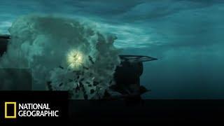 W wyniku awarii torpeda zawróciła i uderzyła we własny okręt! [Piekło pod wodą]