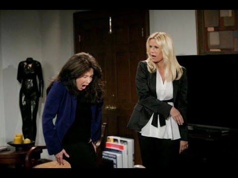 B&B Brooke slaps Taylor (2010)