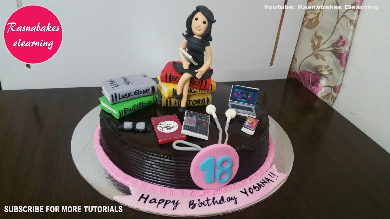 18th Happy Birthday Cakes For Girls Design Cakes For Teenagers 18 Year Olds Happy Bday Decorating Youtube