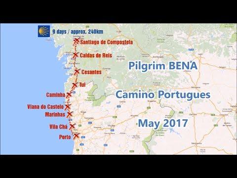 Camino Portugues   Pilgrim Bena