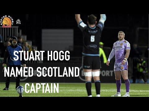 Stuart Hogg on Scotland Captaincy
