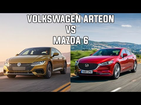 2019 Volkswagen Arteon vs 2019 Mazda 6 - Sport Sedan comparison