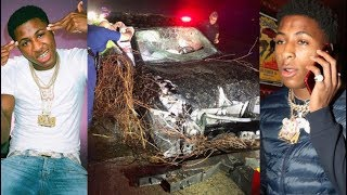 Nba Youngboy Family & Kids Involved In Serious Car Accident! Car Flips & Catches Fire!