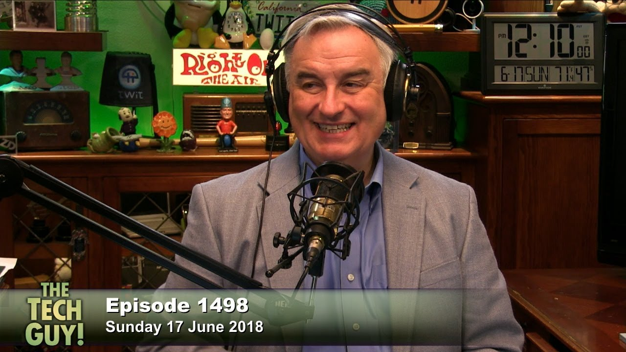 Leo Laporte The Tech Guy 1498 Youtube