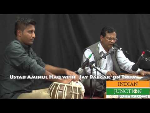 Jab Kabhi Tera naam Lete hai by Ustad Uminual Haq with Jay Dagbar on Tabla performing at Sangeet San
