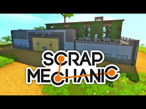En helt ny bas! - Scrap Mechanic #6