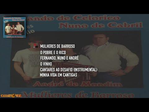 Fernando de Celorico, Nuno de Cabril Ft. André de Mondim - Mulheres de Barroso (Full Album)