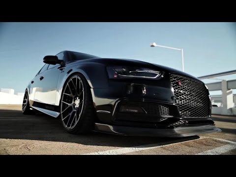 VADER Audi S4 B8 V6 3.0 TFSI w/ ARMYTRIX Cat-Back FLAP EXHAUST - SAVAGE SOUNDS!