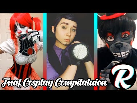 NEW Best FNAF Cosplay Makeup | Freddy Funtime Foxy Ennard and More | Tiktok 2018 Compilation