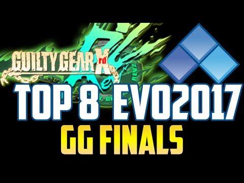EVO 2017 GG XRD REV2 TOP 8 (TIMESTAMP) Tomo Omito Samitto Nage Kazunoko PurePure 310 Teresa